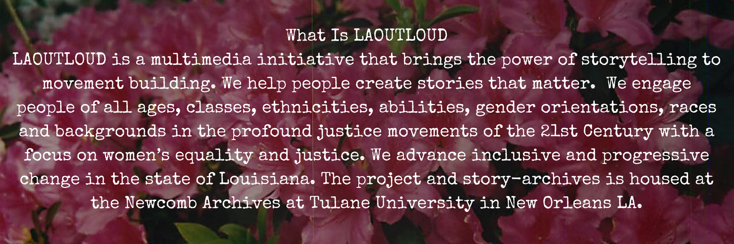 Found out more about LAOUTLOUD!